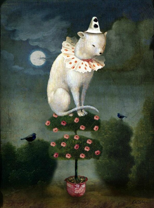 Catrin Welz-Stein - German Surrealist Graphic Designer - Tutt'Art@ (22)