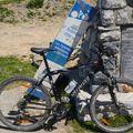 Mon vélo au Col d'Aubisque 1709 m
