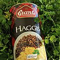 Le burns supper (2): le haggis côté cuisine