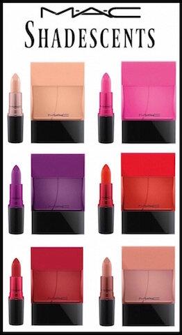mac variation parfumée shadescents