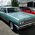 Chevrolet chevelle 4door wagon-1964