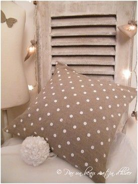 Coussin Pois