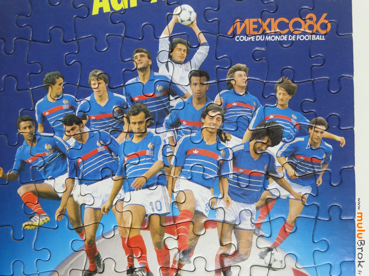 FOOTBALL-Mexico-86-Puzzle-AGF-8-muluBrok-Vintage