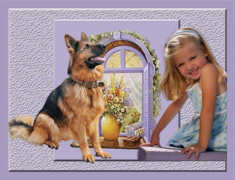 enfant et chien
