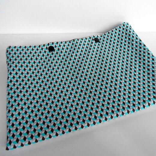 Pochette lingerie cube 3D