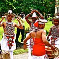 Danseurs traditionnels Sri lankais