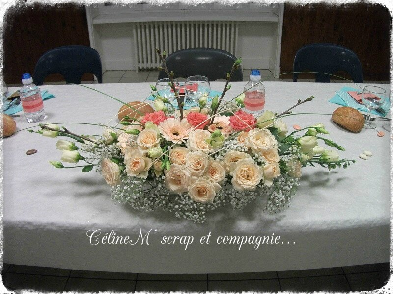 bouquet table capu