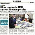 L'union, dimanche 2 mars 2014.