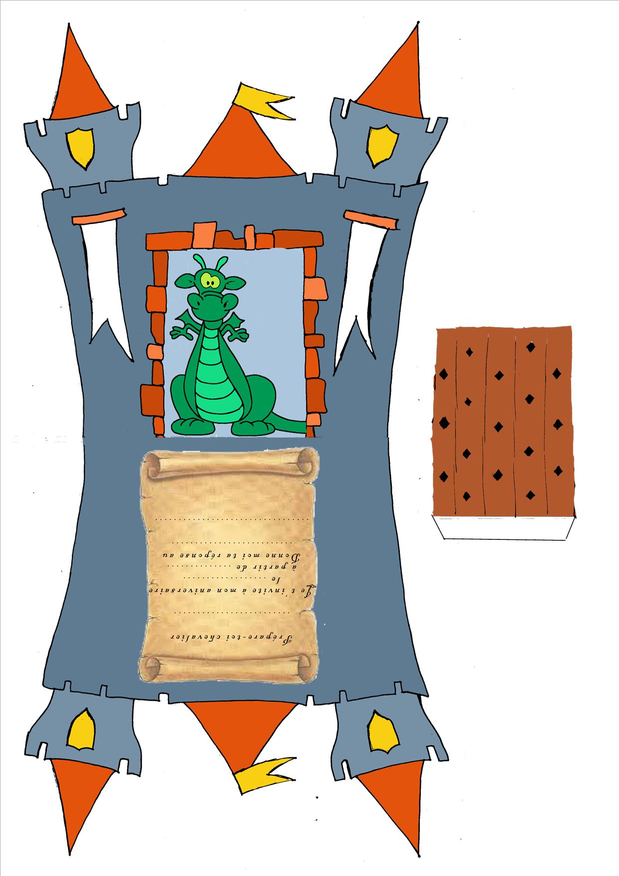 Anniversaire des chevaliers - tutoriels - L'atelier des farfadets