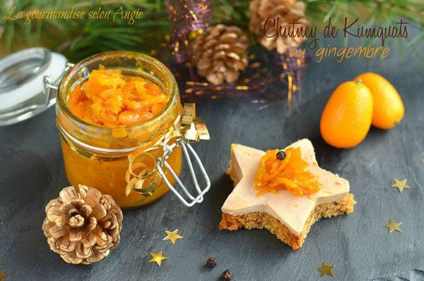 chutney gingembre kumquats