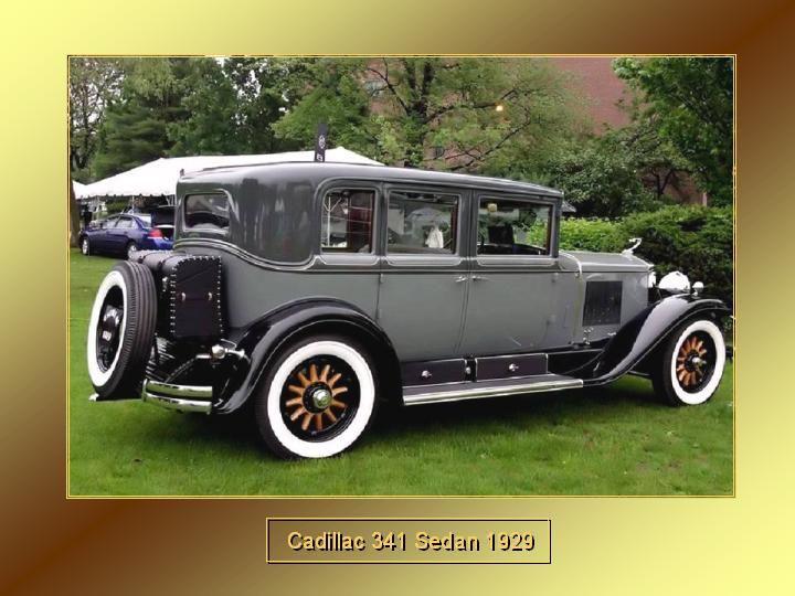 1929 - Cadillac 341 sedan