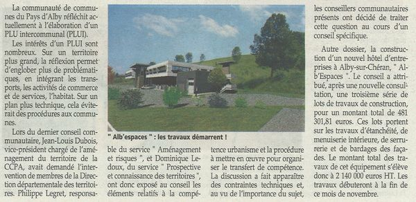 Essor 11 2012 PAys d'Alby
