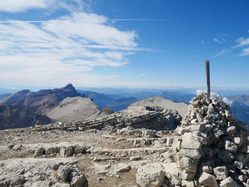 La Grande Tête de l'Obiou, 2789m
