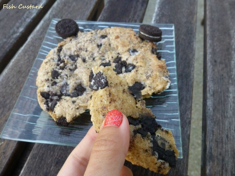 Maxi cookie aux Oreo (16)