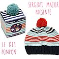 { diy } le kit pompon par sergent major