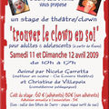 Stage clown et chants du monde