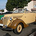 FORD V8 convertible carrossé par Deutsch 1937 Hambach (1)