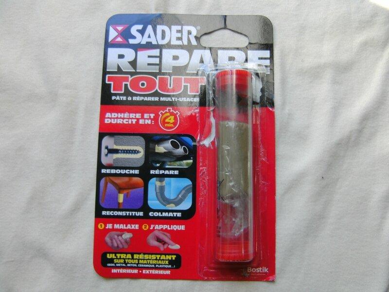 8 - Pâte à réparer sader