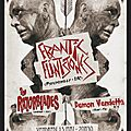 Vendredi 15/05 : frantic flintstones + razorblades + demon vendetta > soirée productions de l'impossible