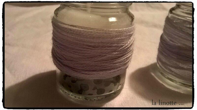 bougies laine 1b1