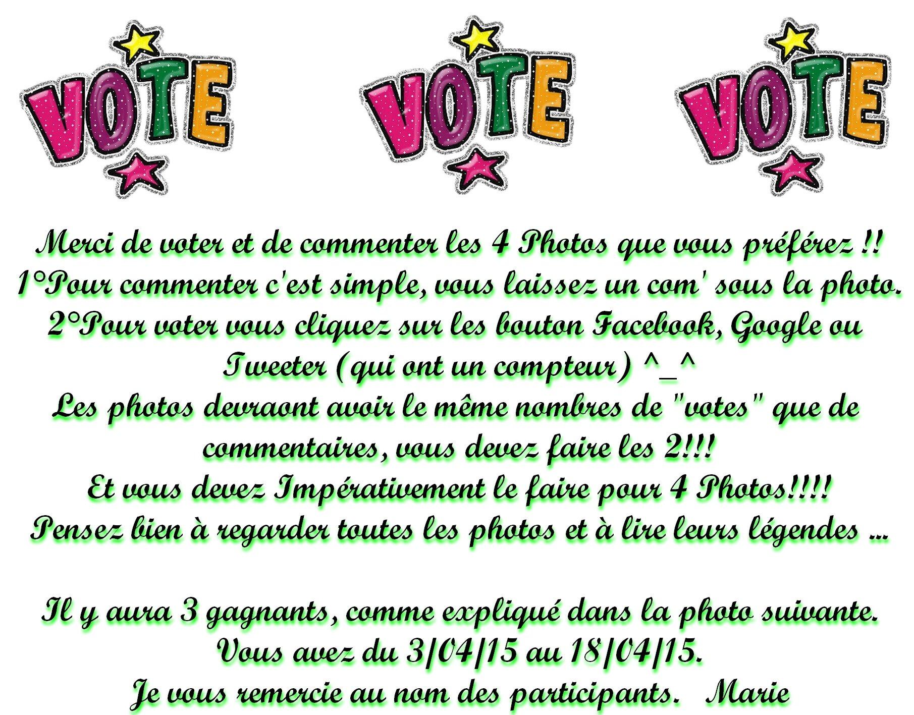 règle des votes