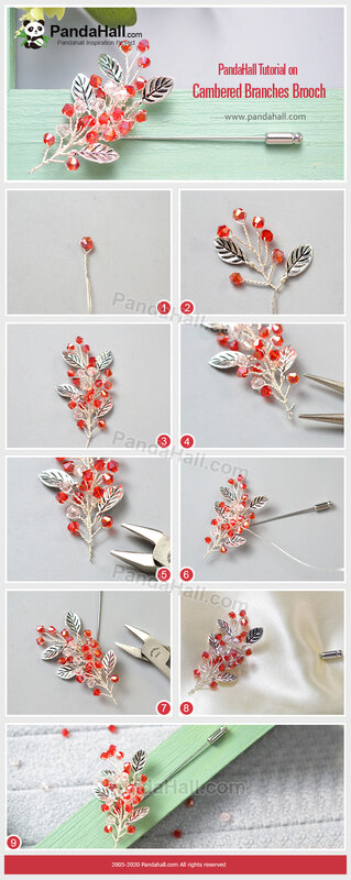 PandaHall-Tutorial-on-Cambered-Branches-Brooch