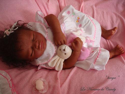 petite fille noir reborn