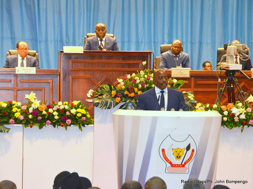 Joseph KABILA devant le congrès *Ph: lh3.googleusercontent.com