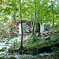 Remplacement de l'aqueduc par une passerelle sur le ruisseau d'argent