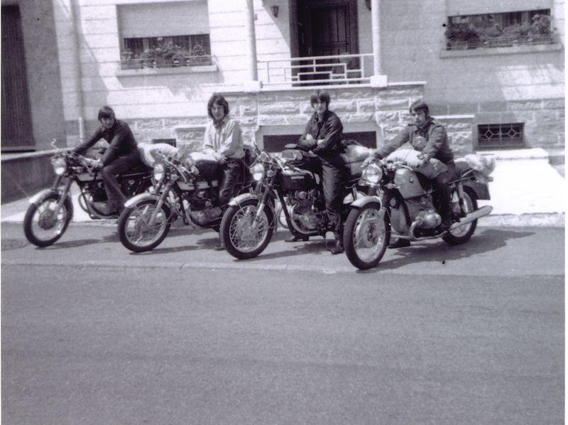 Départ pour SPA Juillet 1971