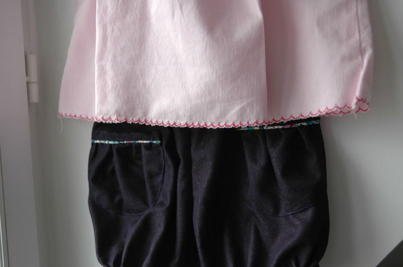 blouse rose papillon et bloomer (10)