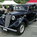 Austin 14/6 goodwood saloon 1936-1939