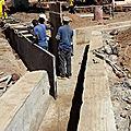 L'eau de pluie du marché de koungoba sera bientôt captée et redirigée pour ne plus inonder !