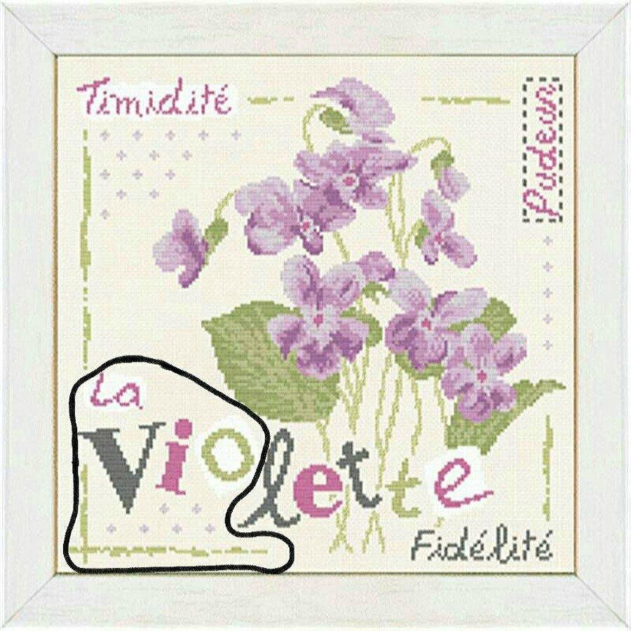 3 ème étape de mon sal Lili point violette (Copier)