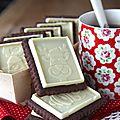 Biscuits double chocolat façon petits écoliers