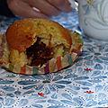 Muffin pommes caramel.