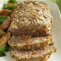 Pain de viande grecque sans gluten