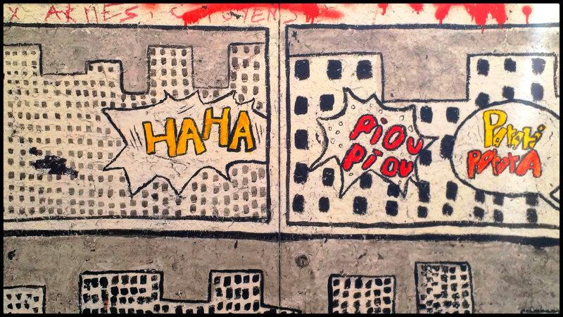 dessins d'immeuble, style bande dessinée