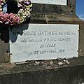 Mme Seide Rathier du Vergé née Héléna Feuilherade_Tombe