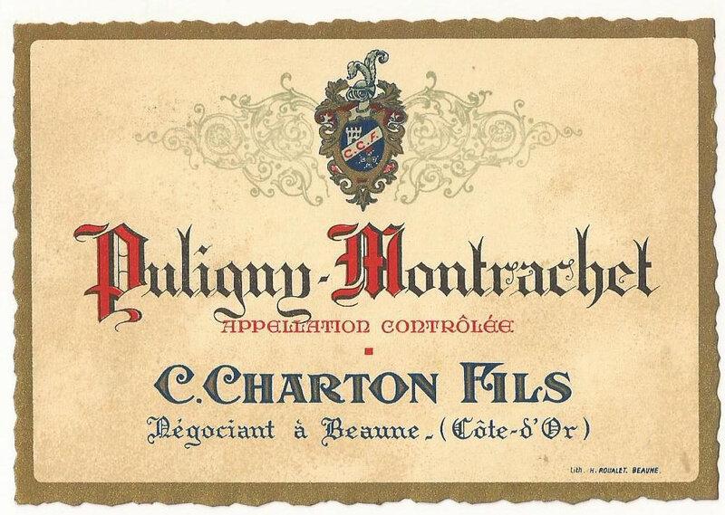 puligny montrachet charton