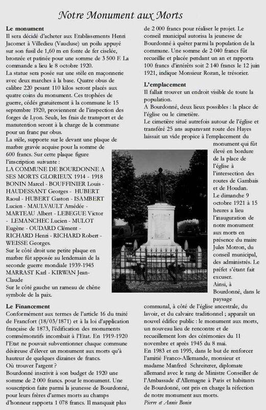 Monum Bourdonné