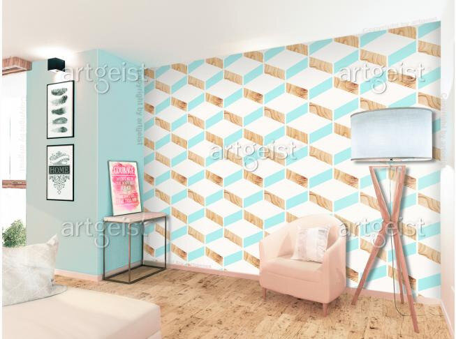 0f72f1aed2a37b Les papiers peints jouent le plus souvent un rôle d une décoration collée  au mur. Mais ils peuvent également être utilisés d une manière inhabituelle  pour ...