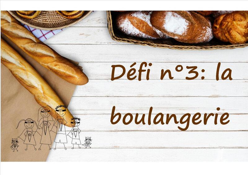 défi 3 boulangerie