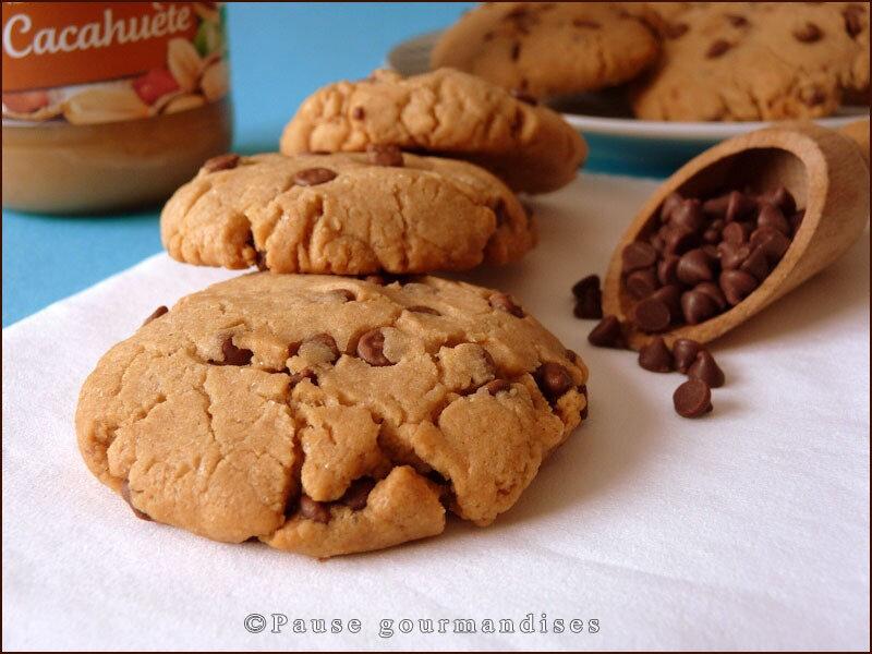 Cookies aux pépites de chocolat au lait et beurre de cacahuète (11)