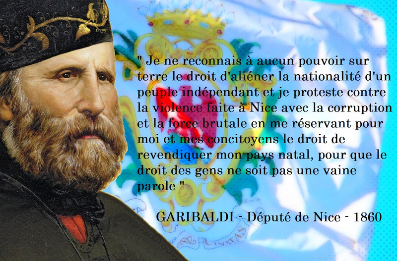 garibaldi citation drapeau