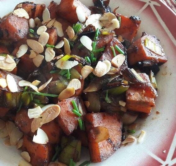 poêlée de patates douces caramélisées (1)