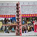 Planner: aout 2018 mon mambi ambiance rose, jaune, soleil et ecrevisse...