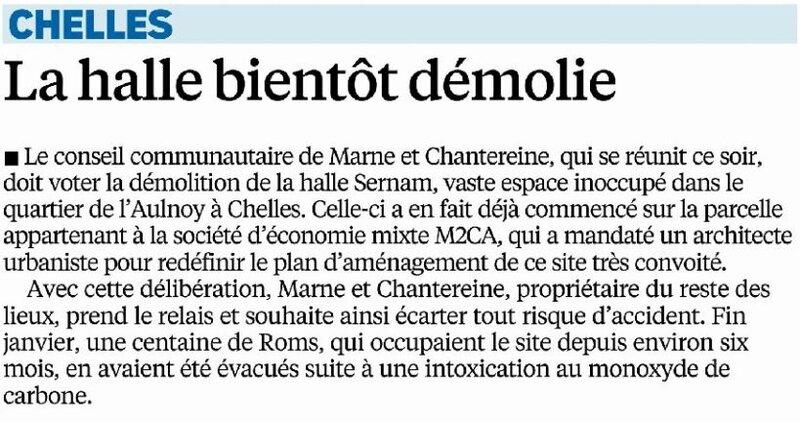Démolition Halle Sernam Le Parisien 08