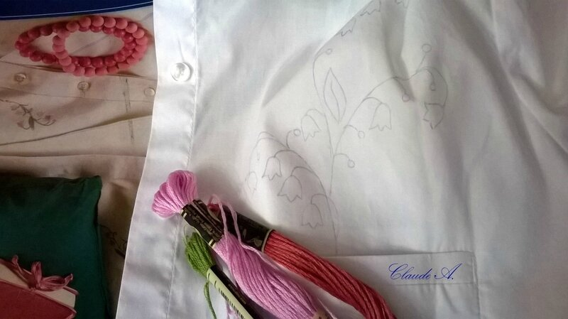 projet poche fleurie