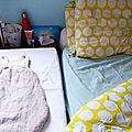 Un lit de cododo pour bébé o
